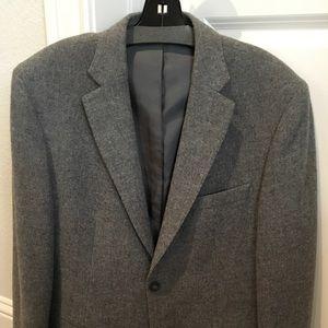 BANANA REPUBLIC Men's wool blazer. Medium grey.